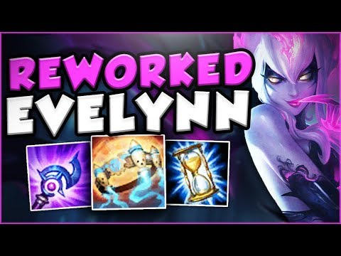 HOW STUPID IS THIS NEW REWORKED EVELYNN? FULL AP REWORKED EVELYNN TOP GAMEPLAY! - League of Legends