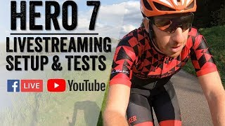 GoPro Hero 7 Livestreaming: How it actually works - Setup/Tests/Facebook/YouTube