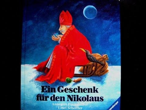 Ein Geschenk für den Nikolaus - Bilderbuch - Kinder Buch - Hörbuch Weihnachten - Geschichte - Lesung