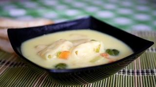 Суп с сырными рулетиками. ОЧЕНЬ ВКУСНО!