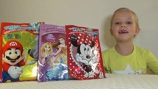 Николь и чудо пакетики Minnie Mouse и другие игрушки для детей !