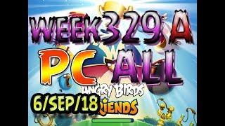 Angry Birds Friends Tournament All Levels Week 329-A PC Highscore POWER-UP walkthrough