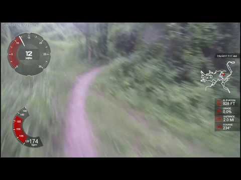 MTB Hot Lap at Hickory Glen Park - Commerce Michigan - 28:03