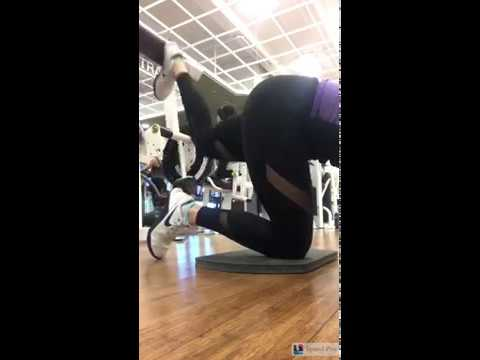Glute Kickback on Prone Hamstring Machine