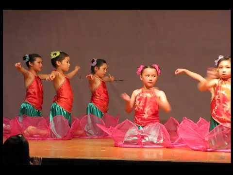 Chinese Lotus Children dance © Scalewings NZ 2009