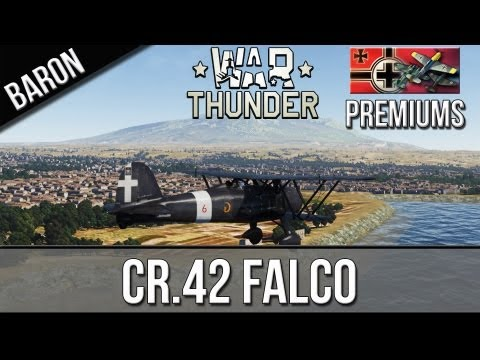 War Thunder - CR.42 Falco - German Premium Plane