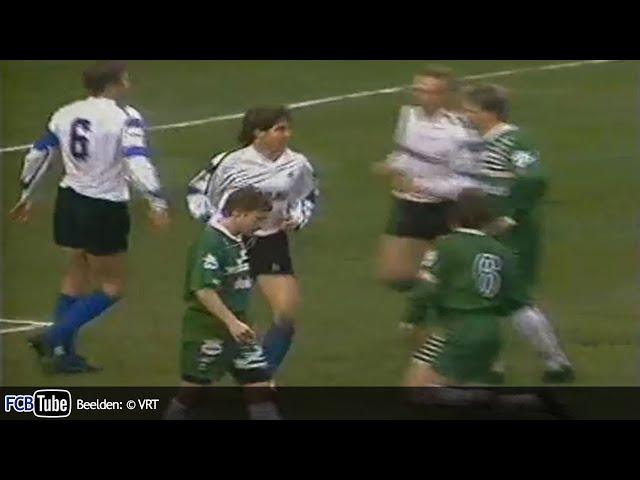 1990-1991 - Jupiler Pro League - 21. Club Brugge - Cercle Brugge 10-0