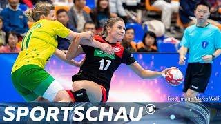 Handball-WM: 34:8-Kantersieg! DHB-Frauen dominieren Australien   Sportschau