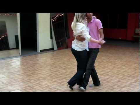 Kizomba - Yami Step-one and Nika (Veronika) Oakland (lights out - private dancer)