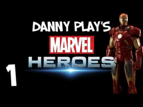 Marvel Heroes: Part 1 - IRON MAN MEETS SPIDER-MAN