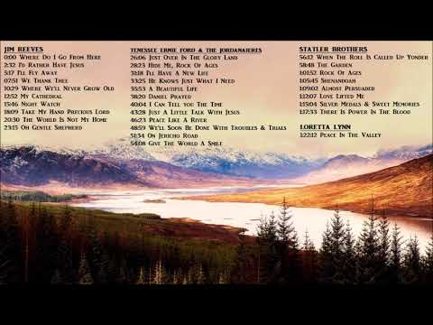 Classic Country Gospel & Hymns - Jim Reeves Statler Brothers Timeless