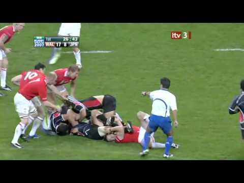 Rugby 2007. Pool B. Wales v Japan