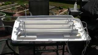 How to Build a Very Inexpensvie Grow Light System