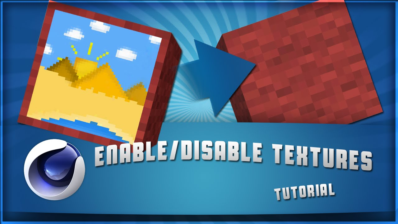 Enable/Disable a Material on Object with expresso in Cinema 4D (Tutorial)