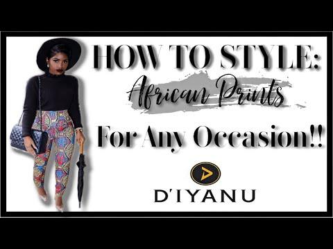 AFRICAN PRINT TRY ON HAUL 2019 FT. DIYANU | iDESIGN8
