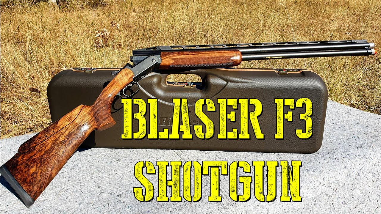 Blaser F3 - $12000 of Perfection
