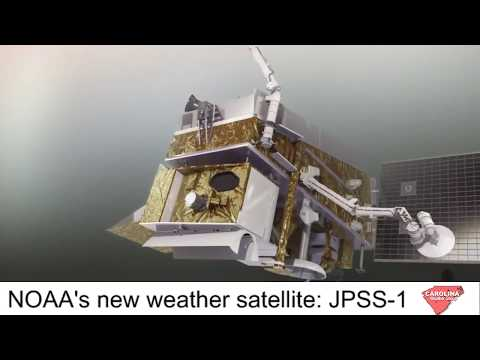NOAA's Joint Polar Satellite System new improve weather forecasts