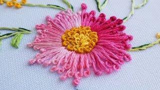 Bordado Ponto de pistilos – Bordando flores