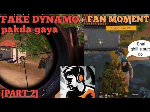[PART2] FAKE DYNAMO phir se pakda gaya + FAN MOMENT funny gameplay   syed series