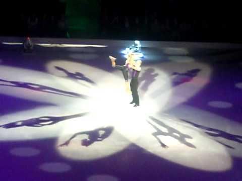 Dancing On Ice Tour: Lukasz Royzcki And Alexandra Schauman