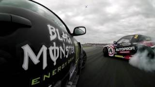 Russian Drift Series at Moscow Raceway (360 Video) thumbnail