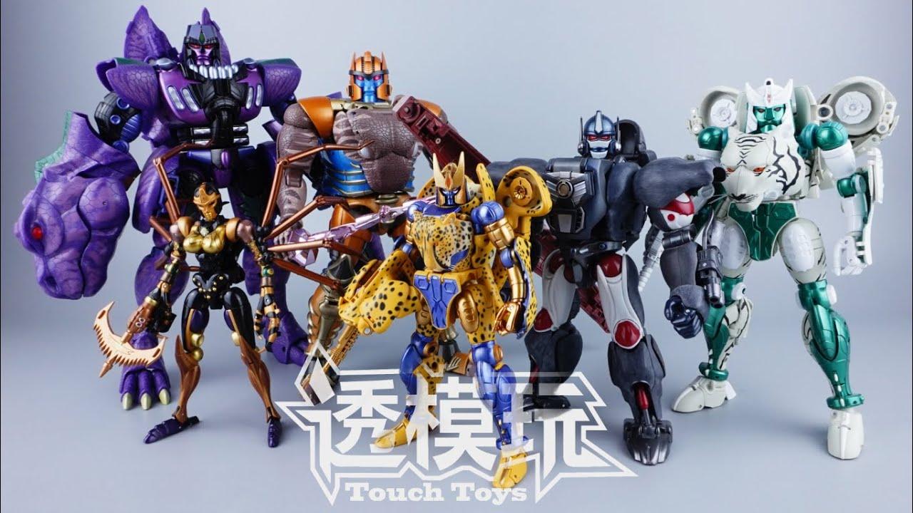 【SwiftTransform】MP BEAST WARS Collection Transformers BEAST WARS Masterpiece Series 透模玩速变 變形金刚 超能勇士
