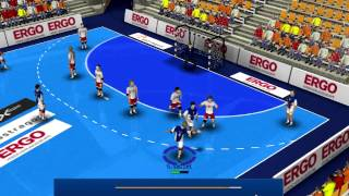 Handball Simulator 2010 fantastic goal
