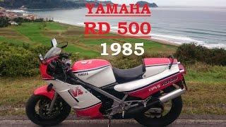 YAMAHA RD 500 LC V4 YPVS 4 cilindros 2 tiempos 4 escapes SONIDO MOTOR YZR 500 Y MOTO YAMAHA RD 350