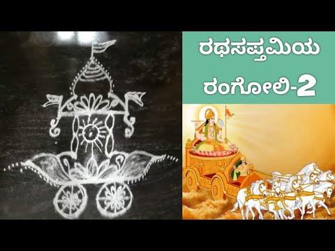 ಹಬ್ಬದ ರಂಗೋಲಿ-2 Rangoli in kannada