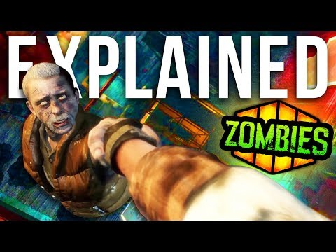 "BLACK OPS 4 ZOMBIES: THE FULL ""FIVE"" CLASSIFIED STORYLINE (Zombies Storyline Explained E003)"