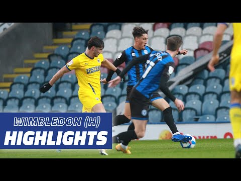 Rochdale AFC Wimbledon Goals And Highlights