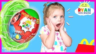 I Mailed Myself to Ryan ToysReview Through a Portal for GIANT Green Egg and It WORKED!! | Skit