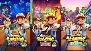 Subway Surfers LAS VEGAS vs HAVANA vs MEXICO - Android Gameplay For Children HD