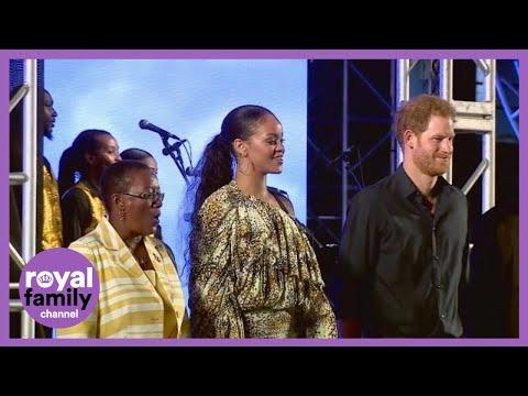 Prince Harry meets Rihanna in Barbados