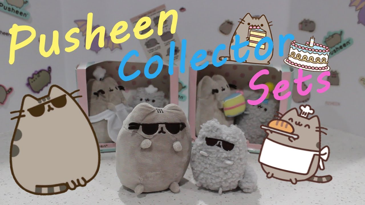 🍰 Pusheen and Stormy Plush Collector Sets - Giveaway Results