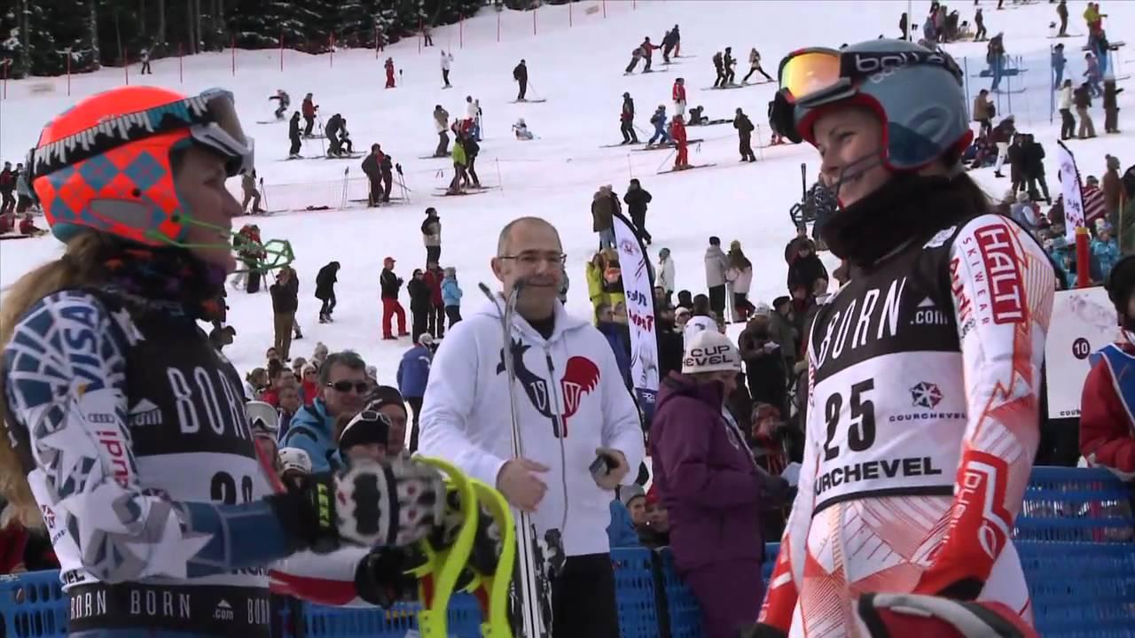Courchevel - Coupe du Monde ski alpin slalom dames - 21 décembre 2010