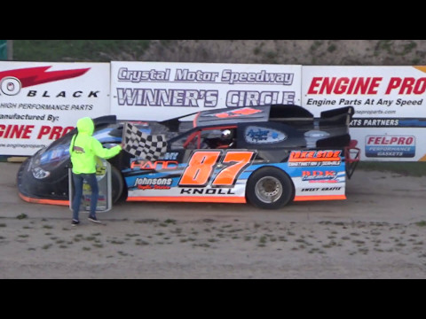 9. Late Model Heat Race #3 at Crystal Motor Speedway on 05-06-17