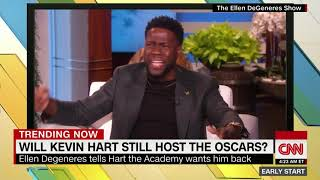 Ellen still wants Kevin Hart to host the Oscars