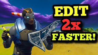 How To Edit *FASTER* In Fortnite! - PC, Console & Mobile Tips