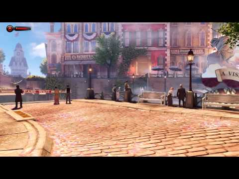 Bioshock Infinite-The Floating City of Columbia-Walkthrough/Gameplay-Part 1 HD