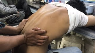 Download Video ASMR Indian Barber Relaxing Head Massage With Special Back Massage By (Khursheed Aalam) MP3 3GP MP4