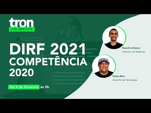 Live: DIRF 2021 – Competência 2020