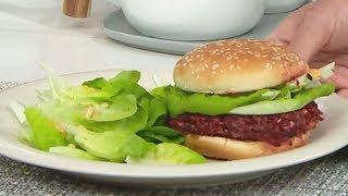 素漢堡包 - 睇片學煮餸