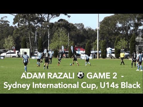ADAM RAZALI - GAME 2 of Sydney International Cup, U14s Black