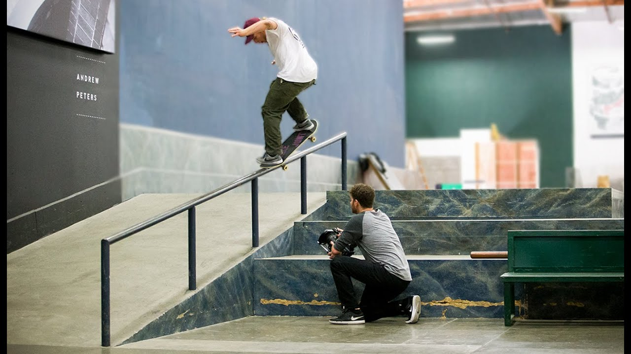 Signature Tricks On Every Obstacle At The Berrics