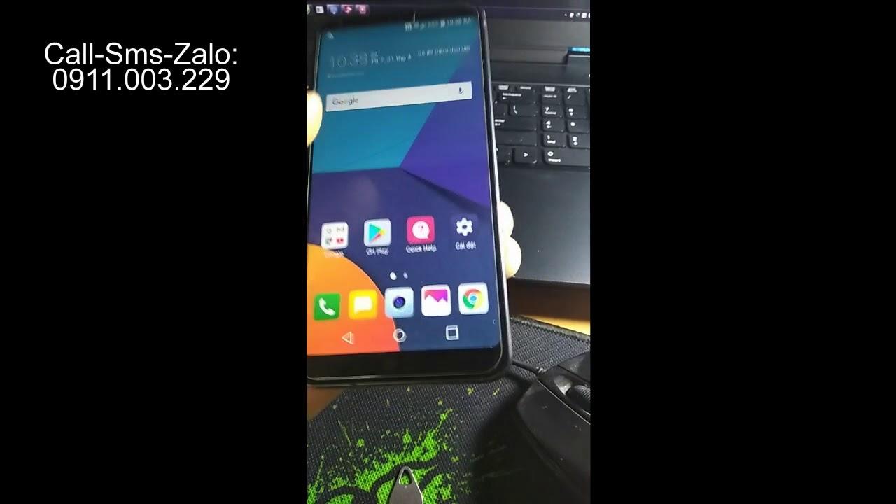 [Hà Nội] Unlock Usim không hợp lệ LG G5 Sprint LS993 ,covert LS993 G6 Sprint sang quốc tế