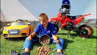 Funny Baby Ride on New Dirt Cross Bike Mini Power Wheel Pocket Bike Kids Playing