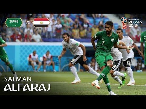 SALMAN ALFARAJ Goal - Saudi Arabia v Egypt - MATCH 34