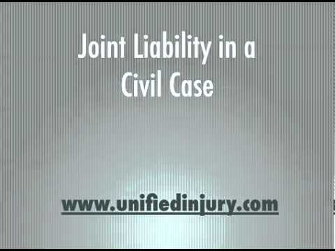 Joint Liability in a Civil Case