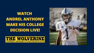Andrel Anthony Live Commitment Ceremony
